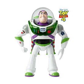 """トイストーリー4 バズ・ライトイヤー アクション フィギュア 人形 おもちゃ 音が鳴る しゃべる 英語 Disney Pixar Toy Story Blast-Off Buzz Lightyear Figure, 7"""""""