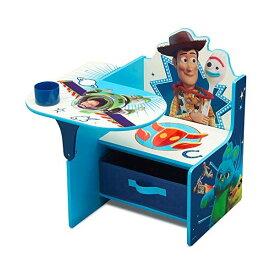 トイストーリー4 ウッディ フォーキー デルタ 子供机 キッズデスク チャイルドデスク キッズチェア デスクセット 子供用 勉強机 Delta Children Chair Desk with Storage Bin, Disney/Pixar Toy Story 4