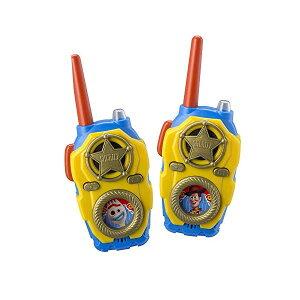 トイストーリー4 ウォーキートーキー トランシーバー おもちゃ グッズ eKids Toy Story 4 FRS Walkie Talkies with Lights and Sounds Kid Friendly Easy to Use