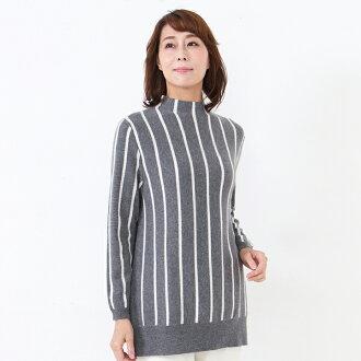 100% of horizontal stripe sweater (302-044) cashmere sweater cashmere cashmere sweater cashmere 100% more vertical cashmere