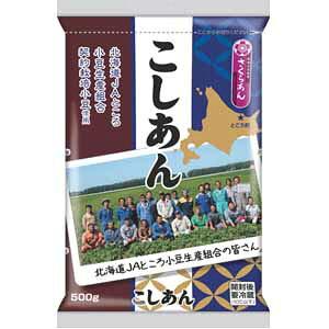 北海道JAところ小豆使用のこしあん500g×12入(通販用)谷尾食糧