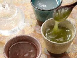 葛・抹茶・しるこ・生姜の4つのお味が6個ずつ入っております。