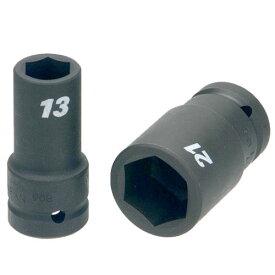 """FPC 1/2WA-17.5(11/16) インパクト セミロング ソケット 差込角 12.7mm 対辺 17.5mm 11/16"""""""