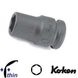 """Ko-ken 13401M-19 3/8""""sq. 薄肉 インパクトソケット 19mm コーケン / 山下工研"""