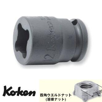 "Ko-ken 14400-14WN 1/2""(12.7mm)sq. Impact Weld Nut Socket 14mm"