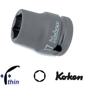 """Ko-ken 14401M-19 1/2""""sq. 薄肉 インパクトソケット 19mm コーケン / 山下工研"""