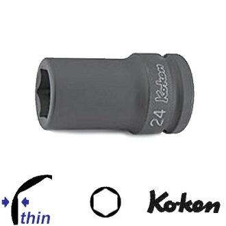 """Ko-ken 16301X-26 3/4""""sq. 薄肉インパクトセミロングソケット 26mm コーケン(Koken/山下工研)"""