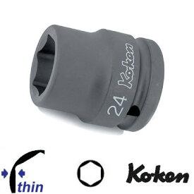 """Ko-ken 16401M-19 3/4""""sq. 薄肉 インパクトソケット 19mm コーケン / 山下工研"""