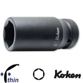 """Ko-ken 18301M-19 1""""sq. 薄肉 インパクト ロングソケット 19mm コーケン / 山下工研"""