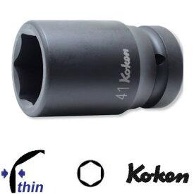 """Ko-ken 18301X-19 1""""sq. 薄肉 インパクト セミロングソケット 19mm コーケン / 山下工研"""