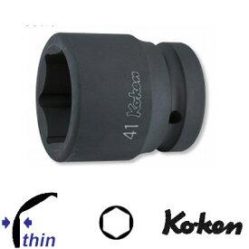 """Ko-ken 18401M-19 1""""sq. 薄肉 インパクトソケット 19mm コーケン / 山下工研"""