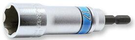 Ko-ken BD014N-19SF サーフェイス 電ドル 用 ロングリードソケット (18V インパクトレンチ対応) 19mm 全長104mm (深さ60mm) コーケン / 山下工研