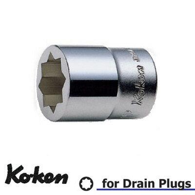山下工業研究所(Ko-ken)_ソケット_2重4角_4109M-21.5_差込角:12.7×全長:40×規格:21.5mm_1個