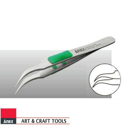ANEX 215 高強度 ピンセット 細先鷲型 115mm