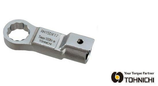 東日 トルクレンチ 交換 ヘッド RH27DX24 RH型 リングヘッド (メガネヘッド) 24mm TOHNICHI / 東日製作所