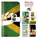 ミュージック ジャマイカ ストリート スマホケース