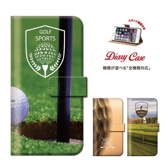 iPhone8 plus iphone7ケース XperiaZ5 Xperia Z5 SO-01H SOV32 501SO sports スポーツ ゴルフ golf 父の日 全機種対応 手帳型 ブック型 ダイアリーケース 男性 プレゼント 父親
