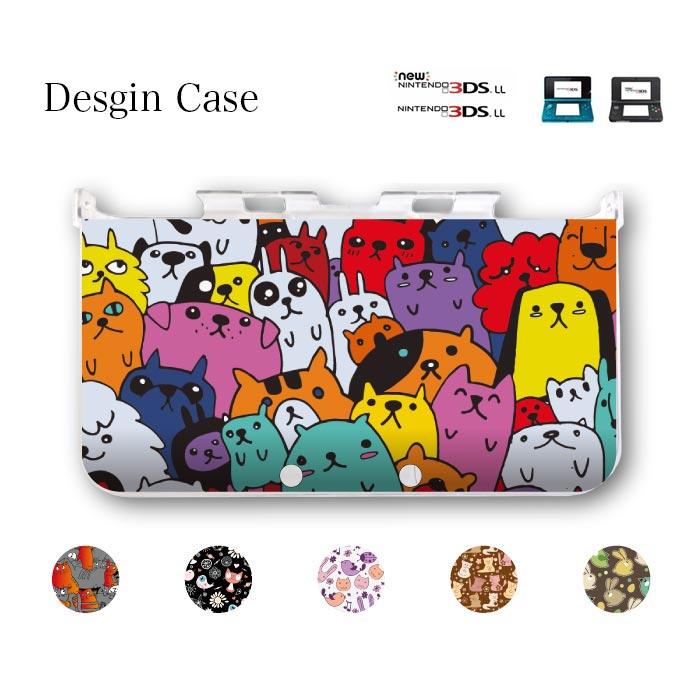 全機種対応 息子 娘 プレゼント 誕生日 3DSケース 3DSカバー アニマル animal 猫 ネコ ねこ 犬 可愛い 猫 ペット ねこ ネコ 送料無料 DSケース