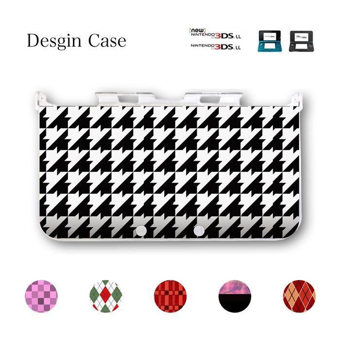 3DSケース 3DS カバー チェック 千鳥柄 タータン チェック柄 ニンテンドー DS game 可愛い 送料無料 DSケース nintendo ds 3ds case ケース