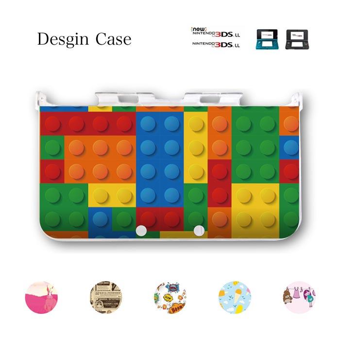 3DSケース カバー アメコミ コミック lego レゴ 大学ノート 女の子 野菜 トマト 足跡 足 柄 うさぎ 可愛い ニンテンドー DS game 可愛い 送料無料 DSケース nintendo ds 3ds case ケース