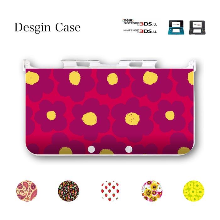 DSケース 3DS カバー nintendo ds 3ds case ケース flower フラワー 北欧 花柄 桜 ひまわり ゆり 柄 うさぎ 可愛い ニンテンドー DS game 可愛い 送料無料