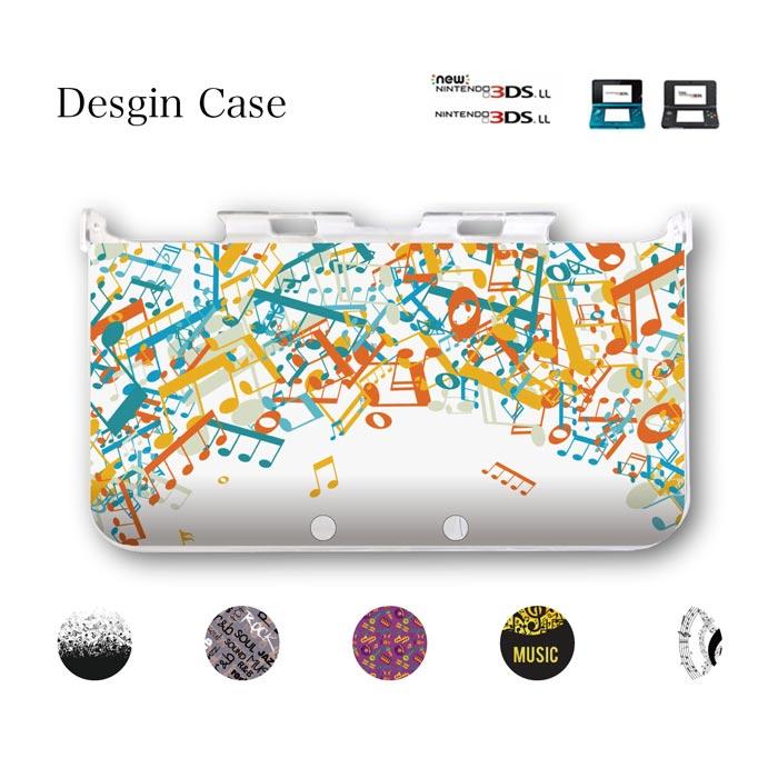 3DS カバー 音楽 音符 音譜 楽譜 演奏 吹奏楽 music R&B HIPHOP REGGAE SOUL FUNK DISCO CLUB ニンテンドー DS game 可愛い 送料無料 DSケース nintendo ds 3ds case ケース
