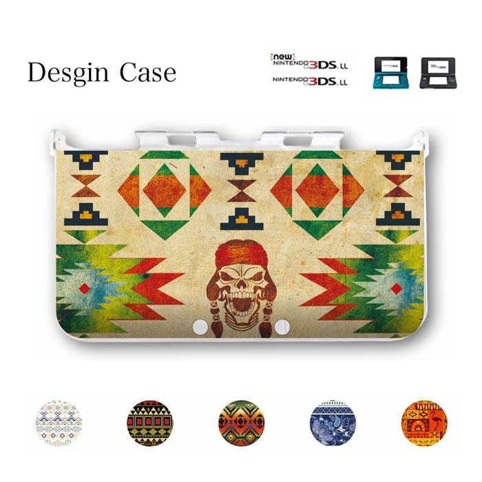 3DS カバー etnic hawaii aloha ネイティブ ネイティヴ エスニック オルテガ 柄 ハワイアン サイケデリック 民族 ニンテンドー DS game 可愛い 送料無料 DSケース nintendo ds 3ds case ケース