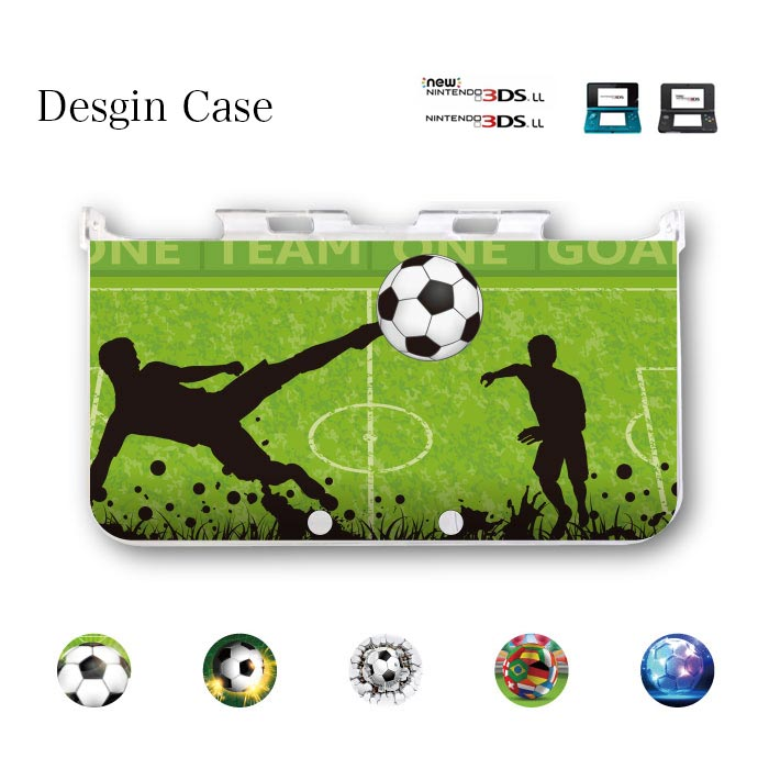 3DS カバー 日本 japan sports スポーツ サッカー ボール soccer ball ニンテンドー DS game 可愛い 送料無料 DSケース nintendo ds 3ds case ケース 部活