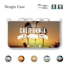 3DS カバー ニンテンドー DS game 可愛い california west coast westside送料無料 DSケース nintendo ds 3ds case ケース 西海岸 cali