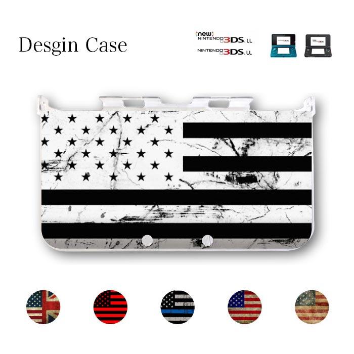 3DS カバー ニンテンドー DS game 送料無料 DSケース nintendo ds 3ds case ケース 3DSLL NEW 星条旗 USA アメリカ 国旗 イギリス NEWYORK LA