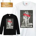 ロングスリーブ ロンT california カルフォルニア 西海岸 sexy セクシー エロ 星条旗 裸 女性 カジュアル アメリカ 国旗 大統領 USA アメリカ合衆国 米国 長袖 メンズ レディース 長袖 MENS S M L XL XXL T-SHIRT 大きいサイズ ビックシルエット