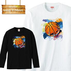 ロングスリーブ ロンT バスケ basketball ダンク リーグ スポーツ 練習着 デザイン ファッション 流行 デザイン ロゴ 長袖 ビックシルエット 大きいサイズあり big size ビックサイズ