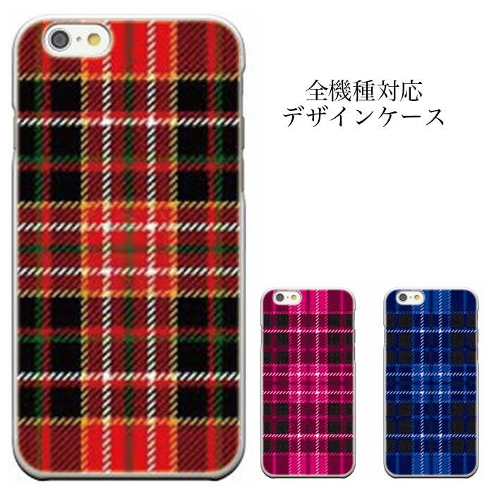 iPhone8 plus iphone7ケース REGZA Phone T-02D LUMIX Phone P-02D C01Xperia Z4 SOV31 edge SC-04G 全機種対応 タータンチェック グレンチェック ギンガム トラッド 柄物