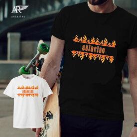 スケーターファッション スケーター ストリートブランド streetbrand brand sk8 スケボー オーリー Tシャツ プリント デザイン プランド アパレル 服 fire
