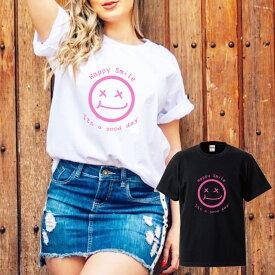 smile スマイル ニコちゃん ニコニコ aloha アロハ california カルフォルニア ハワイ hawaii beach ビーチ summer ロゴ 写真 フォト フォトT Tシャツ プリント デザイン 洋服 t-shirt 白 黒