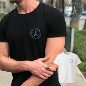 オリジナル ヴィンテージ orijinal vintage style freanch paris フランス パリ ワンポイント ロゴ 写真 フォト フォトT Tシャツ プリント デザイン 洋服 t-shirt 白 黒 ホワイト ブラック