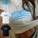 カリフォルニア california westcoast 西海岸 星条旗 USA surf surfer surfing サーフ サーファー サーフィン 海 日焼け 黒肌 gal 水着 beach ロゴ フォトT Tシャツ プリント デザイン 洋服 t-shirt 白 黒 ホワイト ブラック