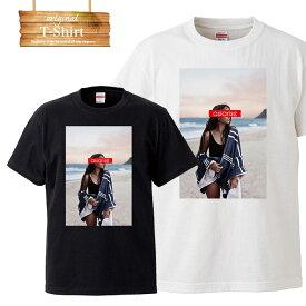 Tシャツ T-shirt ティーシャツ 半袖 大きいサイズあり big size ビックサイズ カジュアル sexy 女性 美 cute 水着 下着 tattoo タトゥー セクシー ガール 女性 ASIARISE ストリート ブランド