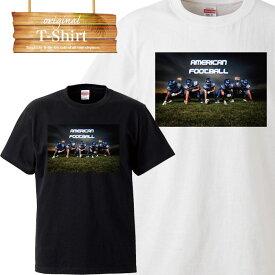 Tシャツ T-shirt ティーシャツ 半袖 大きいサイズあり big size ビックサイズ カジュアル アメフト スーパーボール american football フットボール アメリカン ラグビー スポーツ sports 部活 練習着