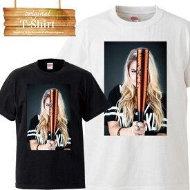 Tシャツ T-shirt ティーシャツ 半袖 大きいサイズあり big size ビックサイズ カジュアル スポーツ sports 部活 練習着 野球 ベースボール baseball 草野球 硬式 軟式 バット ボール sexy 女性 セクシー ユニフォーム