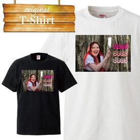 おとぎ話 赤ずきんちゃん 斧 ナイフ 赤頭巾 可愛い Tシャツ T-shirt ティーシャツ 半袖 大きいサイズあり big size ビックサイズ