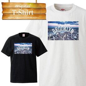 NEWYORK BROOKLYN ブルックリン ニューヨーク NYC HIPHOP B系 ダンス 衣装 Tシャツ T-shirt ティーシャツ 半袖 大きいサイズあり big size ビックサイズ