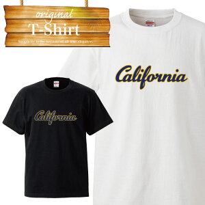 california カリフォルニア シンプル 西海岸 ウェッサイ westcoast westside イラスト ロゴ logo デザイン Tシャツ T-shirt ティーシャツ 半袖 大きいサイズあり big size ビックサイズ