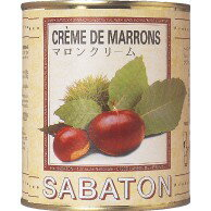 SABATON サバトン マロンクリーム (1kg×12缶) 【本州/四国/九州は送料無料】