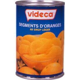 videca ビデカ オレンジセグメント(425g×24缶)【本州/四国/九州は送料無料】