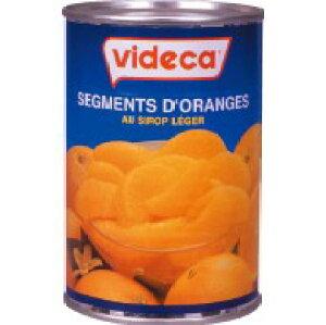 videca ビデカ オレンジセグメント(425g×24缶)