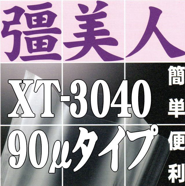 彊美人90 XT-3040(800枚)300×400mm フィルム厚さ90ミクロン/ナイロンポリ真空袋【本州/四国/九州は送料無料】