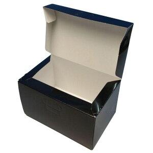 ケーキ箱 ロックBOX105 ブラック 7×9(100枚)210mm×270mm×105mm高 ロックボックス パッケージ中澤