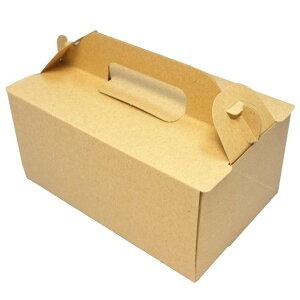 ケーキ箱 OPL ウッズ 4×6(400枚) 120×180×90mm ショートケーキ用 手提げサイドオープン式 パッケージ中澤