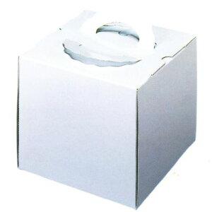 デコ箱 H178 TD 白ム地 6寸用 212×212×178mm高(25枚)(トレー無し) ケーキ箱 パッケージ中澤